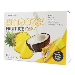 Zmrzlina kokos, ananás