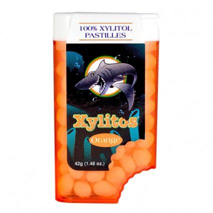 Mentolky pomarančové bez cukru