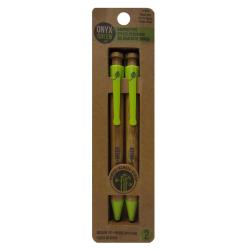 Bambusové pero - modrá náplň