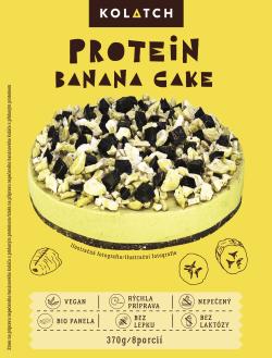 Proteínový banánový koláč