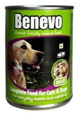 Krmivo pre mačky a psy Benevo Duo