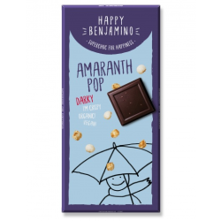 Čokoláda s amarantovými chrumkami