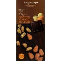 Čokoláda pražené mandle a moruše