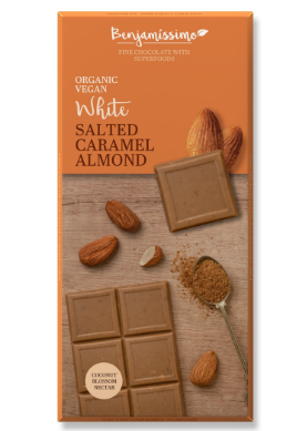 Čokoláda slaný karamel a mandle