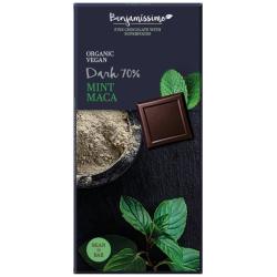 Čokoláda s mätou a maca