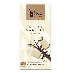 Čokoláda iChoc biela s vanilkou
