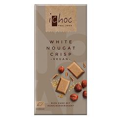 Čokoláda iChoc svetlý chrumkavý nugát