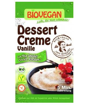 Vanilkový dezert bez varenia