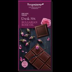 Čokoláda s esenciálnym olejom z ruží