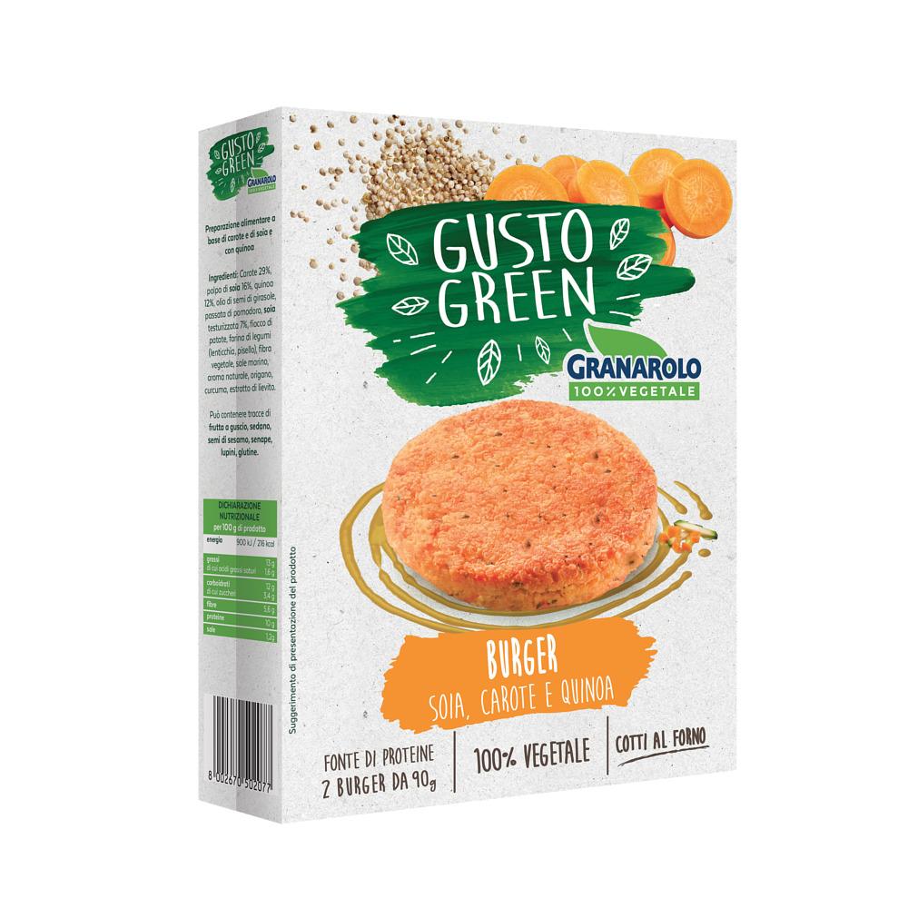 Burger mrkva a quinoa