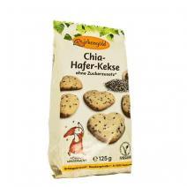 Ovsené keksíky s chia semienkami