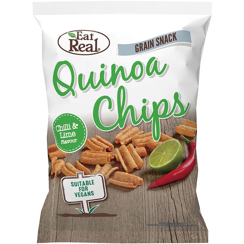 Quinoa chipsy chilli, limetka 30 g