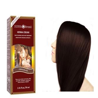 Farba na vlasy na báze Henny - Čokoláda