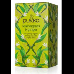 Čaj citrónová tráva a zázvor