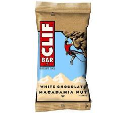 CLIF biela čokoláda a makadam. oriešky