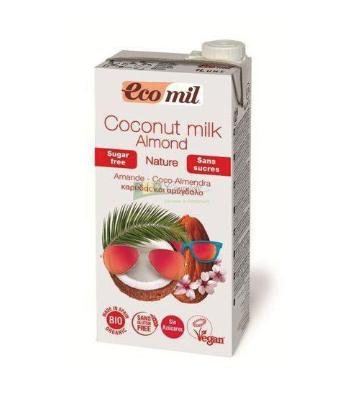 Kokosovo-mandľový nápoj