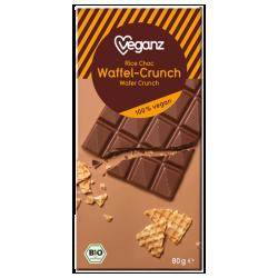 Čokoláda s kúskami vaflí