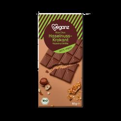 Čokoláda s lieskovým krokantom