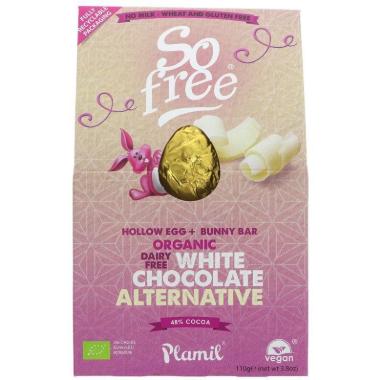 Veľkonočné vajíčko z bielej čokolády
