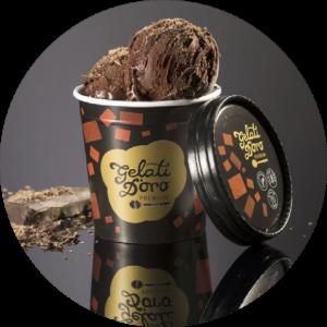 Čokoládová zmrzlina Gelati dOro