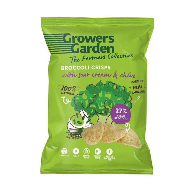 Brokolicové chipsy smotana a pažítka