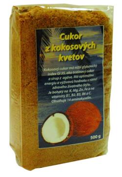 Cukor z kokosových kvetov