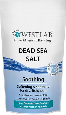 Soľ do kúpeľa z Mŕtveho mora