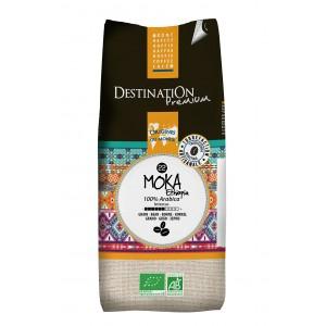 Zrnková káva 100 % Arabica Moka