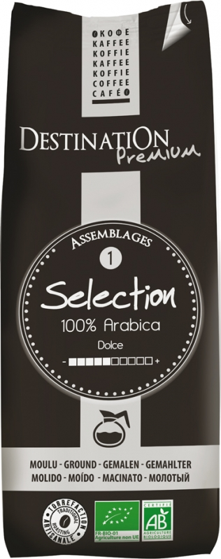 Mletá káva 100 % Arabica Selection