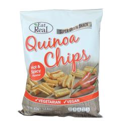 Quinoa chipsy - pikantné