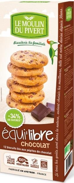 Čokoládové cookies Moulin du Pivert