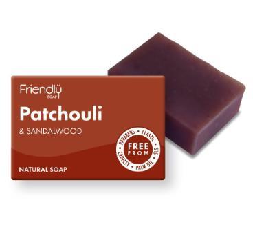 Mydlo patchouli a santalové drevo