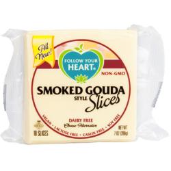 Plátkový syr - údená gouda