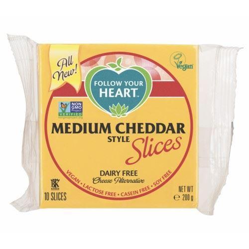 Plátkový syr medium chedar