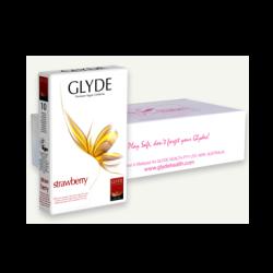 Kondóm ultra jahoda Glyde