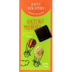 Čokoláda s lieskovcami a morušami