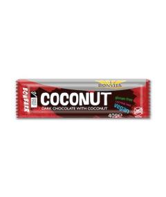 Tmavá čokoláda s kokosom