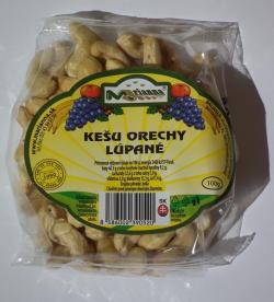Kešu orechy lúpané