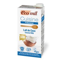 Kokosová smotana 1 liter Ecomil