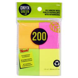 Samolepiace poznámky 200 ks ONYX