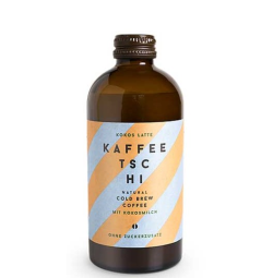 Kokosové latte Kaffeetschi
