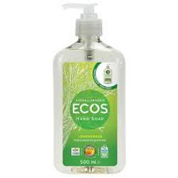 Tekuté mydlo na ruky - citrónová tráva