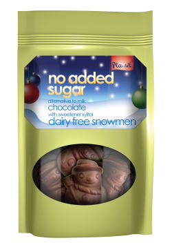 Čokoládoví snehuliaci bez cukru