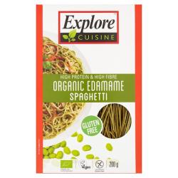 Špageti z edamame sóje