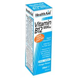 Vitamín B12 v spreji 20 ml HealthAid