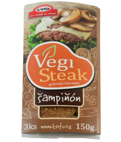 Šampiňónový steak