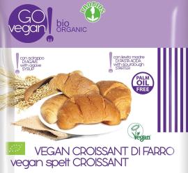 Špaldový croissant bez náplne