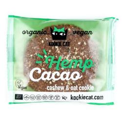 Bezlepkový cookie - konope, kakao
