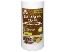 Raňajková zmes nepražené kakao a lukuma