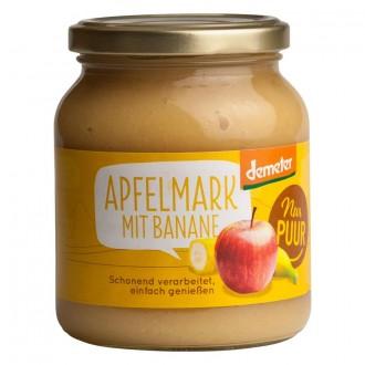 Jablkové pyré s banánom